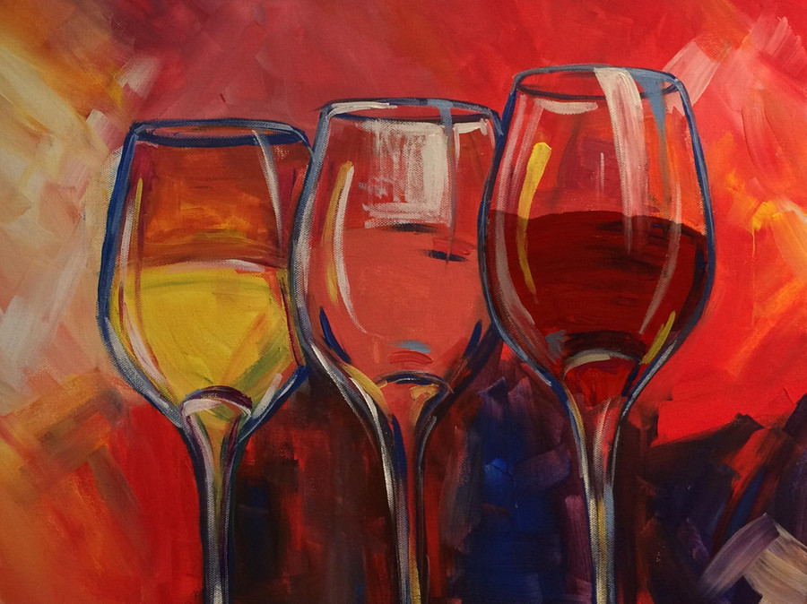 Wine Canvas Painting Class Party Best Ideas Harrisburg Pa Fun