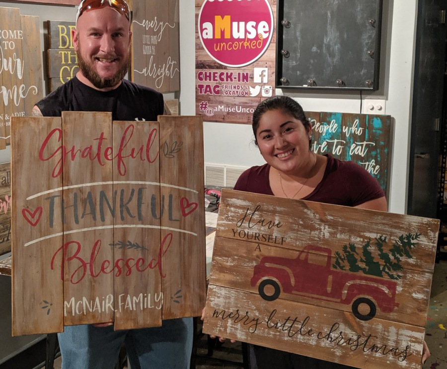 Byob Pallet Night Wood Sign Amp Paint Parties Events