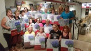 ladies fun night out | wine painting studio central pennsylvania