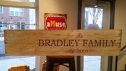 Custom Last Name Rustic Farmhouse Wood Sign | DIY Pallet Sign Workshop Harrisburg Mechanicsburg