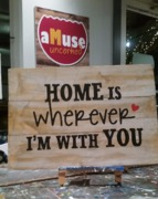 Home Rustic Wood Sign | Woodworking Workshop Harrisburg Mechanicsburg
