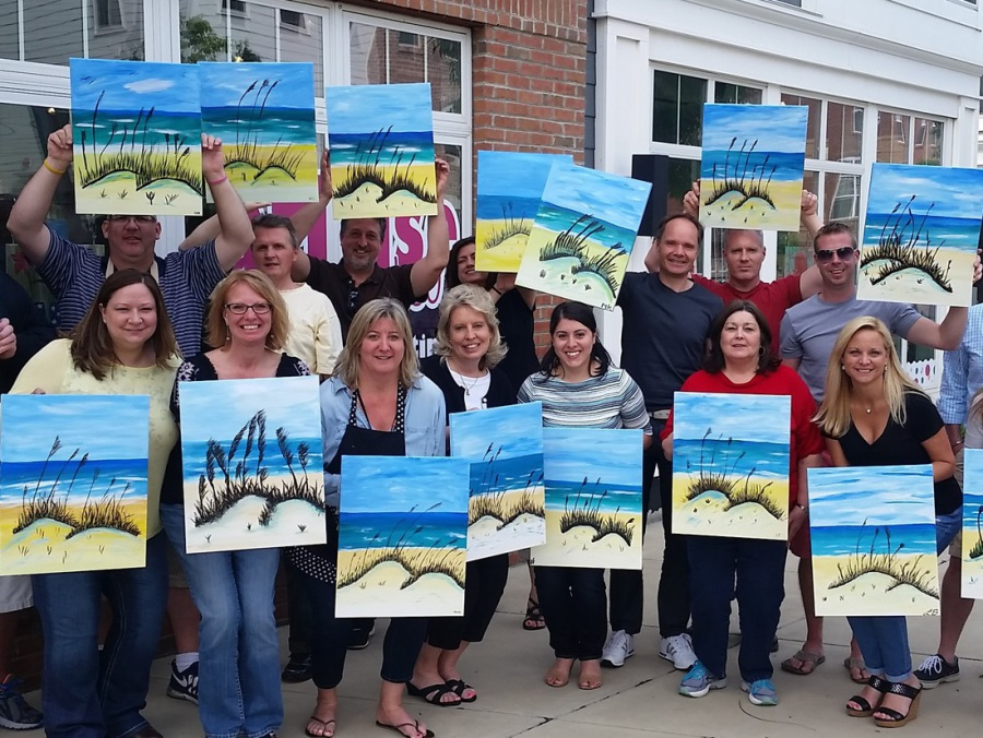 paint nite fundraiser harrisburg | unique fundraising ideas central pennsylvania, mechanicsburg