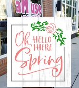 spring wood sign diy class mechanicsburg | hello spring pallet night sign | spring decor harrisburg