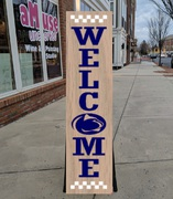 penn state porch sign psu | penn state wood sign diy class | penn state nittany lions welcome sign