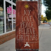 joy love peace believe christmas rustic wood sign | christmas pallet signs primitive wooden
