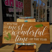 it's the most wonderful time of the year rustic wood sign | christmas pallet signs wooden