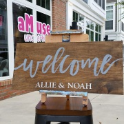 welcome wedding signs harrisburg | welcome pallet wedding signs mechanicsburg