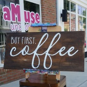 but first coffee wood sign | coffee lovers pallet sign diy | harrisburg mechanicsburg camp hill lemoyne hershey