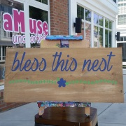 bless this nest pallet sign | better than board & brush mechanicsburg