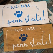 penn state wood sign, penn state pallet sign | psu wall decor psu gifts harrisburg mechanicsburg